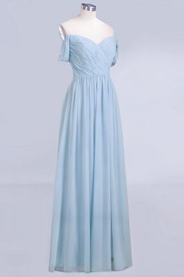Abendkleider Lang Blau | Brautjungfernkleider Chiffon Günstig_7
