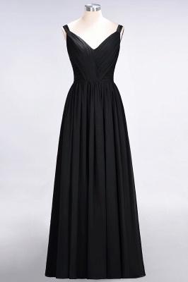 Schöne Abendkleider Weinrot | Brautjungfernkleider Lang Günstig_28