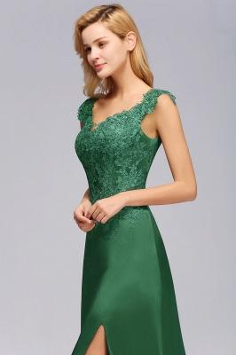 Schöne Abendkleider Dunkel Grün | Abendmoden Online_8