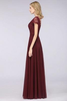 Schöne Brautjungfernkleider Lang Günstig | Chiffon Kleider Abendmoden_6