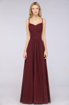 Schlichtes Abendkleid | Brautjungfernkleider Lang Günstig_37