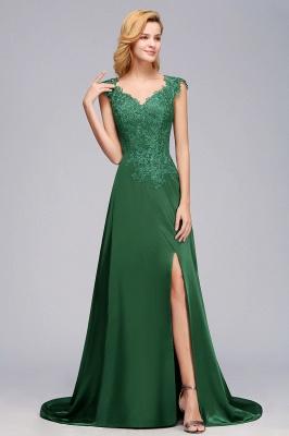 Schöne Abendkleider Dunkel Grün | Abendmoden Online_5