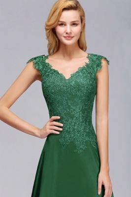 Schöne Abendkleider Dunkel Grün | Abendmoden Online_7