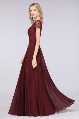 Schöne Brautjungfernkleider Lang Günstig | Chiffon Kleider Abendmoden_5