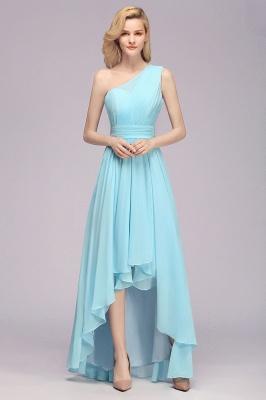Brautjungfernkleider Blau | Chiffon Kleider Günstig Online_5