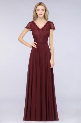 Schöne Brautjungfernkleider Lang Günstig | Chiffon Kleider Abendmoden_1