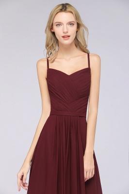 Schlichtes Abendkleid | Brautjungfernkleider Lang Günstig_41