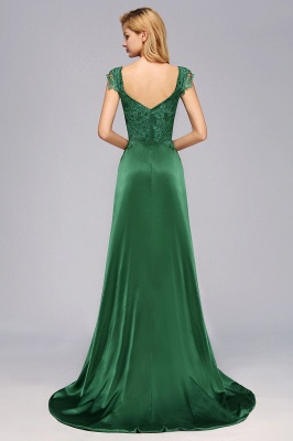 Schöne Abendkleider Dunkel Grün | Abendmoden Online_3