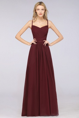 Schlichtes Abendkleid | Brautjungfernkleider Lang Günstig_35