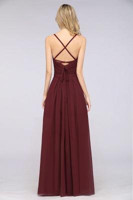 Schlichtes Abendkleid | Brautjungfernkleider Lang Günstig_36