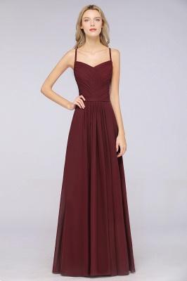Schlichtes Abendkleid | Brautjungfernkleider Lang Günstig_38