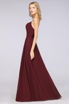 Schlichtes Abendkleid | Brautjungfernkleider Lang Günstig_40
