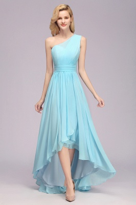 Brautjungfernkleider Blau | Chiffon Kleider Günstig Online
