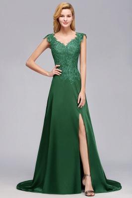 Schöne Abendkleider Dunkel Grün | Abendmoden Online_1