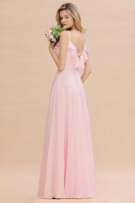 Elegante Brautjungfernkleider Rosa   Brautjungfernkleid Günstig Online_7