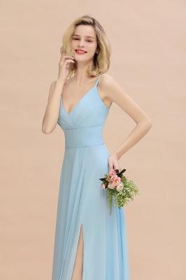 Brautjungfernkleider Blau   Chiffon Kleider Für Brautjungfern_8