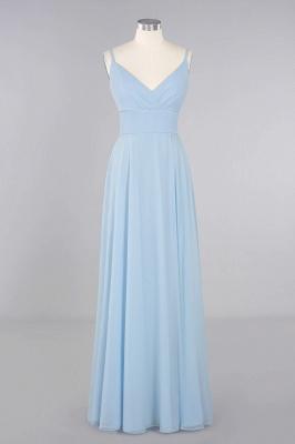 Brautjungfernkleider Blau   Chiffon Kleider Für Brautjungfern_10