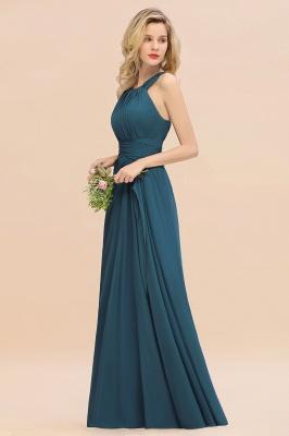Brautjungfernkleider Dunkel Grün | Chiffon Kleider Für Brautjungfern_8