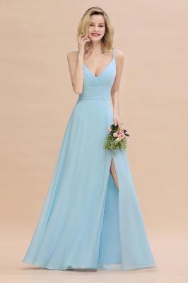 Brautjungfernkleider Blau   Chiffon Kleider Für Brautjungfern_5
