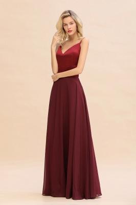 Brautjungfernkleider Weinrot | Günstige Kleider Online Kaufen_5