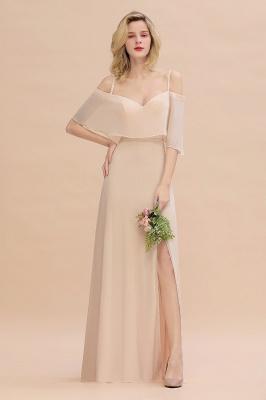 Elegante Brautjungfernkleider Champagne | Kleider für Brautjungfern_2