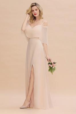 Elegante Brautjungfernkleider Champagne | Kleider für Brautjungfern_7