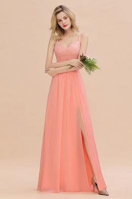 Abendkleider Lang Orange   Brautjungfernkleider Günstig_54