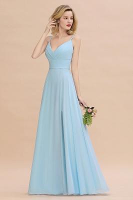 Brautjungfernkleider Blau   Chiffon Kleider Für Brautjungfern_6