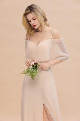 Elegante Brautjungfernkleider Champagne | Kleider für Brautjungfern_8