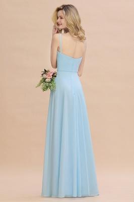 Brautjungfernkleider Blau   Chiffon Kleider Für Brautjungfern_3