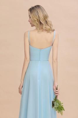 Brautjungfernkleider Blau   Chiffon Kleider Für Brautjungfern_9