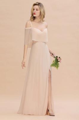 Elegante Brautjungfernkleider Champagne | Kleider für Brautjungfern_6