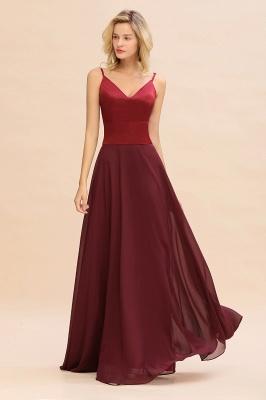 Brautjungfernkleider Weinrot | Günstige Kleider Online Kaufen_4