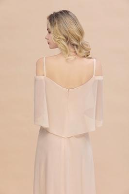 Elegante Brautjungfernkleider Champagne | Kleider für Brautjungfern_9