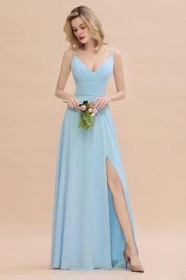 Brautjungfernkleider Blau | Chiffon Kleider Für Brautjungfern