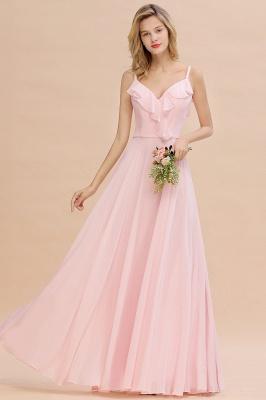 Elegante Brautjungfernkleider Rosa   Brautjungfernkleid Günstig Online_2