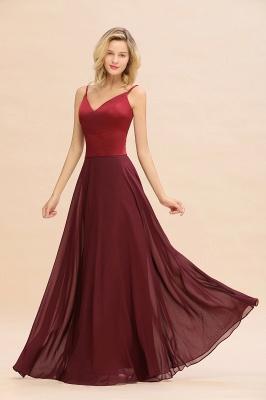 Brautjungfernkleider Weinrot | Günstige Kleider Online Kaufen_7