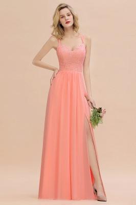 Abendkleider Lang Orange | Brautjungfernkleider Günstig