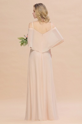 Elegante Brautjungfernkleider Champagne | Kleider für Brautjungfern_3