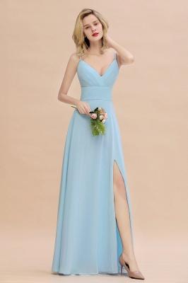 Brautjungfernkleider Blau   Chiffon Kleider Für Brautjungfern_1