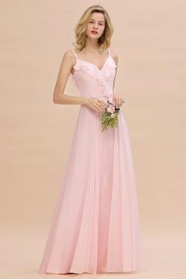 Elegante Brautjungfernkleider Rosa   Brautjungfernkleid Günstig Online_6