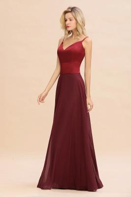 Brautjungfernkleider Weinrot | Günstige Kleider Online Kaufen_6