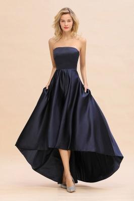 Abendkleider Hi-lo | Schwarzes Abiballkleid Günstig