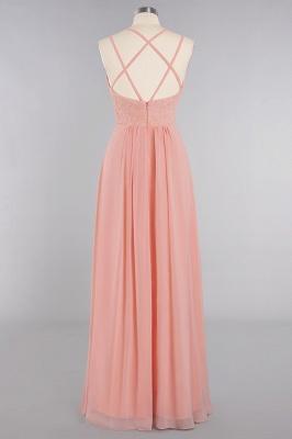 Abendkleider Lang Orange   Brautjungfernkleider Günstig_60