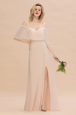 Elegante Brautjungfernkleider Champagne | Kleider für Brautjungfern_1