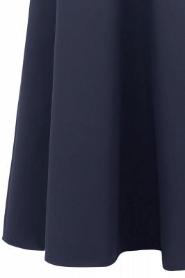Rote Abendkleider Lang Schlicht | Vintage Abiballkleid Online_23