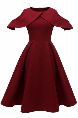 Designer Abendkleid Kurz | Rote Cocktailkleider Online_1