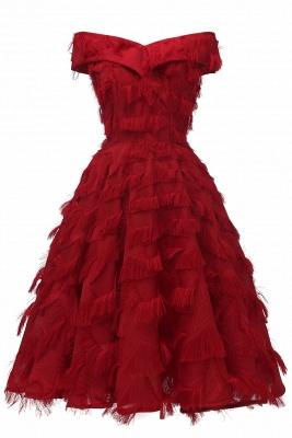 Rote Abendkleider Kurz   Cocktailkleider Günstig Online_3