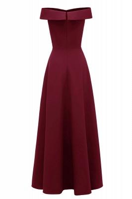 Rote Abendkleider Lang Schlicht | Vintage Abiballkleid Online_15