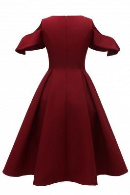 Designer Abendkleid Kurz | Rote Cocktailkleider Online_6